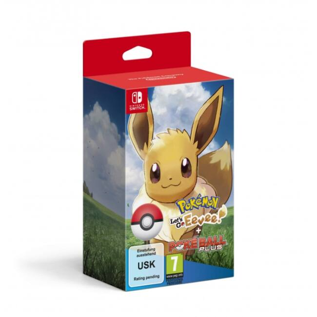 SWITCH Pokémon Let's Go Eevee! + Poké Ball Plus