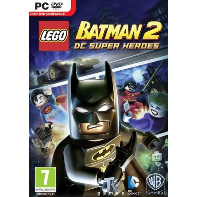 Lego Batman 2 DC Superheroes PC játékszoftver