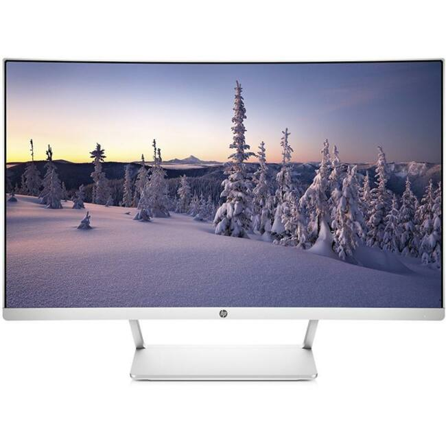 HP 27 Curved Display monitor