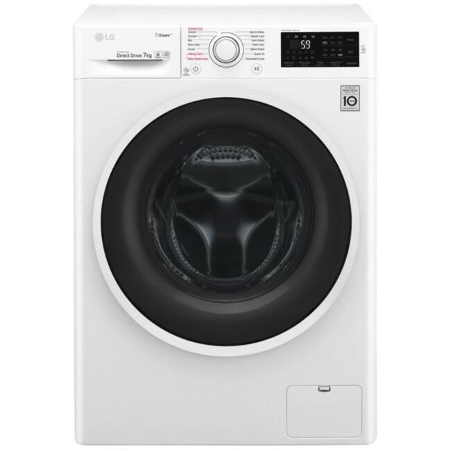 LG F4J6QY0W elöltöltős mosógép, A+++, 7 kg