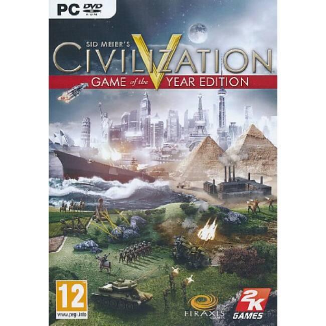 Civilization 5 GOTY PC játékszoftver