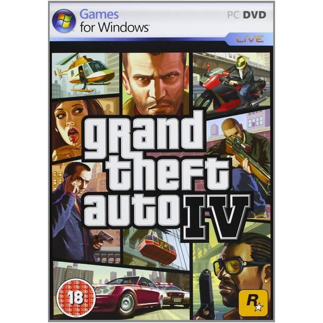 GTA 4 BBFC PC játékszoftver