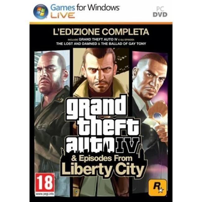 GTA 4 Complete Ed. PC játékszoftver