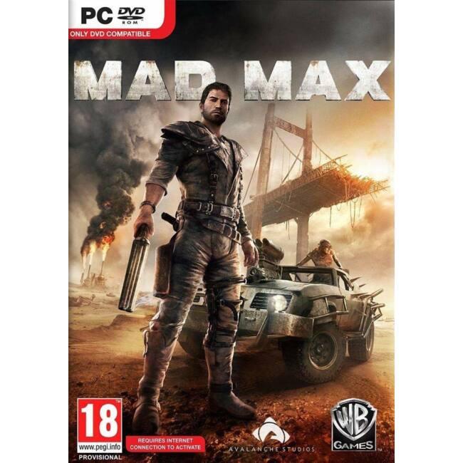 Mad Max PC játékszoftver
