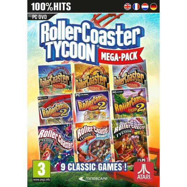 RollerCoaster Tycoon 9 Megapack PC játékszoftver