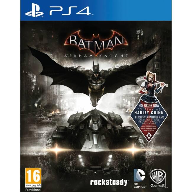 Batman Arkham Knight PS4 játékszoftver