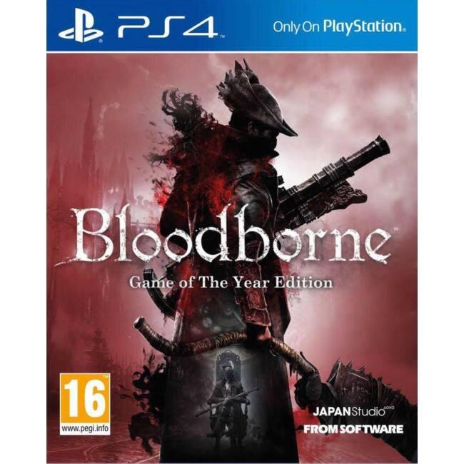 Bloodborne GOTY PS4 játékszoftver