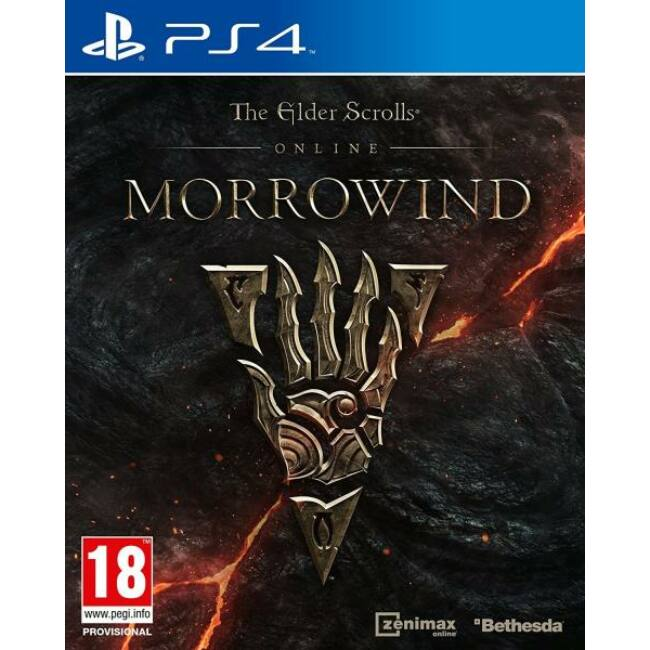 Elder Scrolls Online Morrowind PS4 játékszoftver