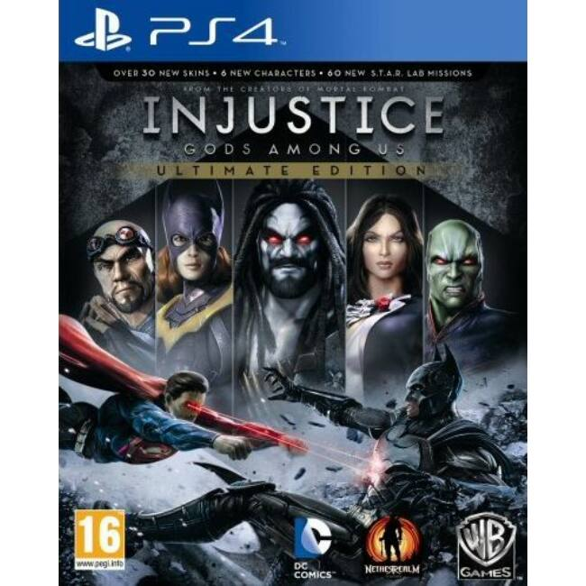 Injustice Gods Among Us Ult.Ed. PS4 játékszoftver