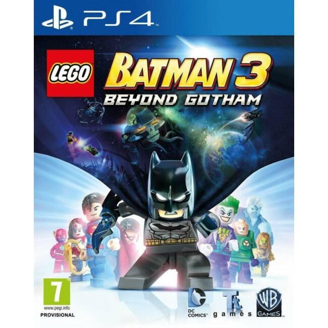 Lego Batman 3 Beyond Gotham PS4 játékszoftver
