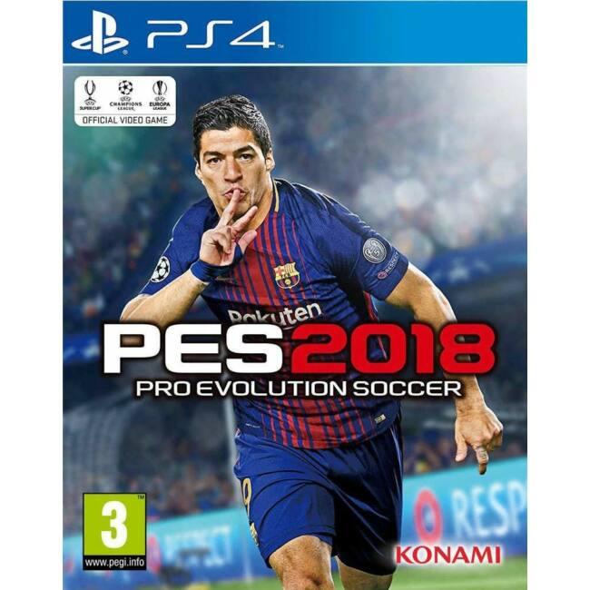 PES 2018 PS4 játékszoftver