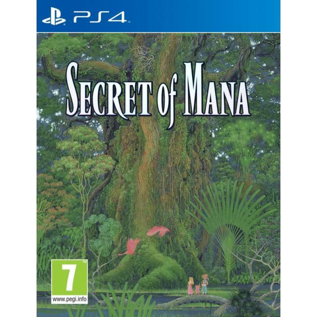Secret of Mana PS4 játékszoftver