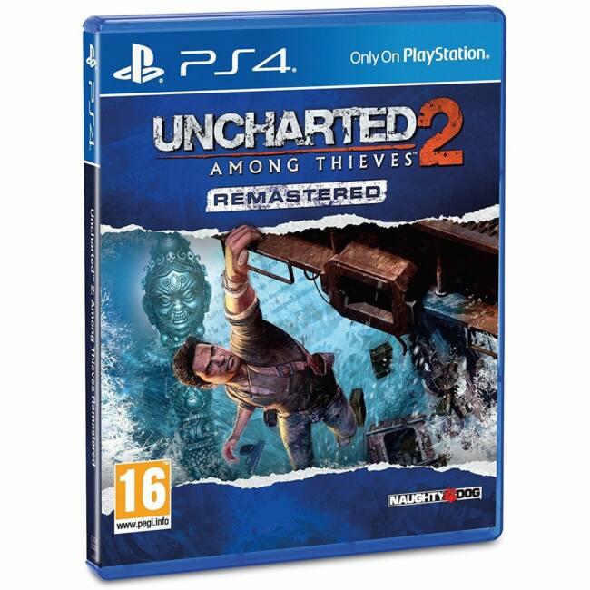 Uncharted 2 Among Thieves PS4 játékszoftver