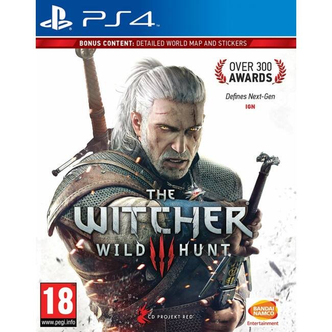 Witcher 3 Wild Hunt PS4 játékszoftver