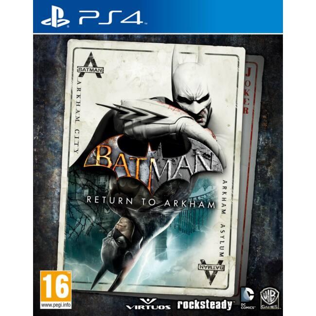 Batman Return to Arkham PS4 játékszoftver