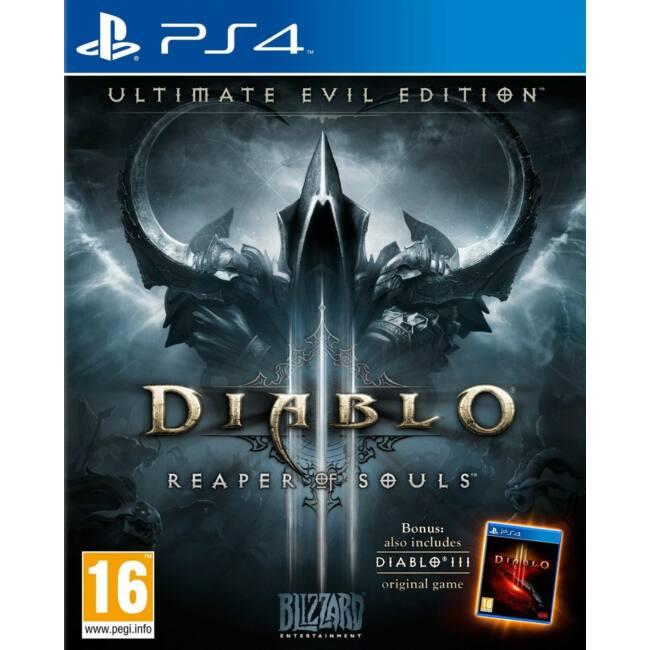 Diablo 3 Ultimate Evil Ed. PS4 játékszoftver