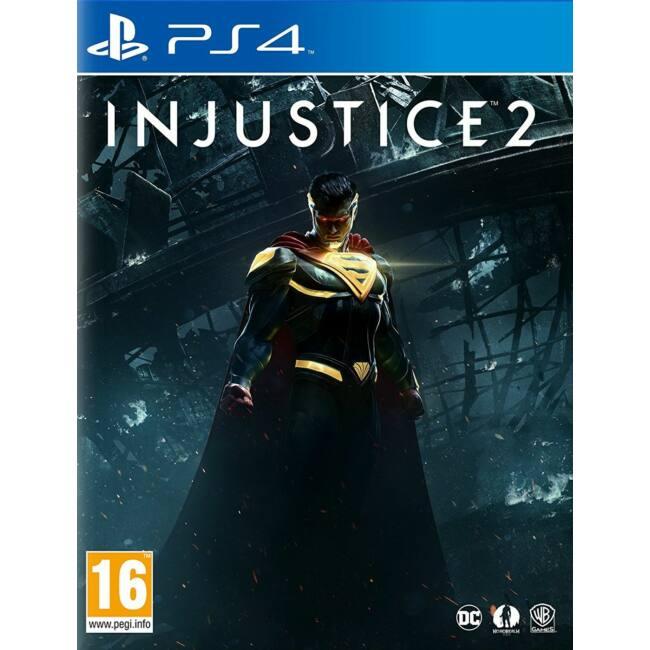 Injustice 2 PS4 játékszoftver