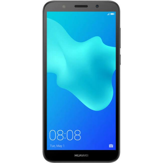 "Huawei Y5 20185,45"" LTE 16GB Dual SIM fekete okostelefon"