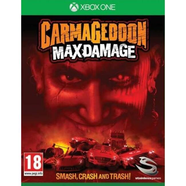 Carmageddon Max Damage XONE játékszoftver