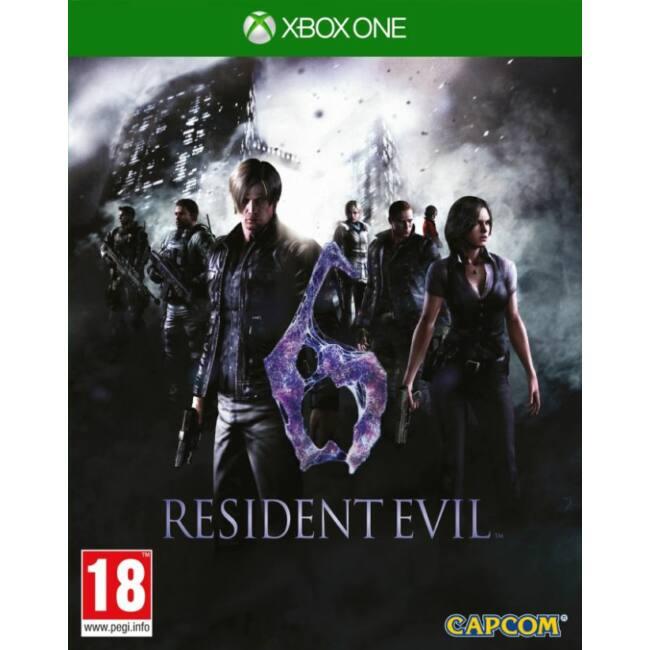 Resident Evil 6 HD XONE játékszoftver