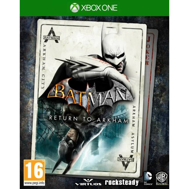 Batman Return to Arkham XONE játékszoftver
