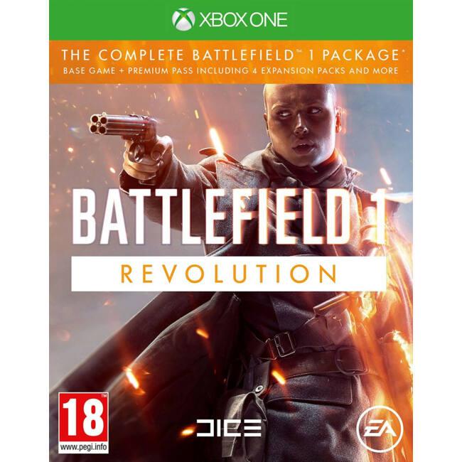 Battlefield 1 Revolution Edition XONE játékszoftver