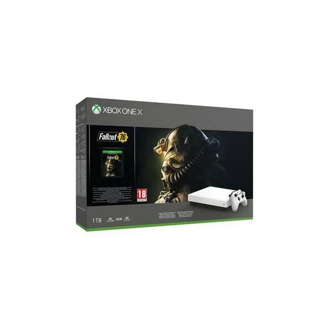 Microsoft Xbox One X 1TB + Fallout 76