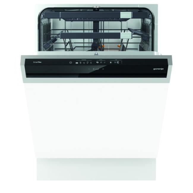 Gorenje GI67260 SmartFlex mosogatógép - kezelőpaneles 60cm széles, 16 teríték 3 kosár, A+++, 5 progr