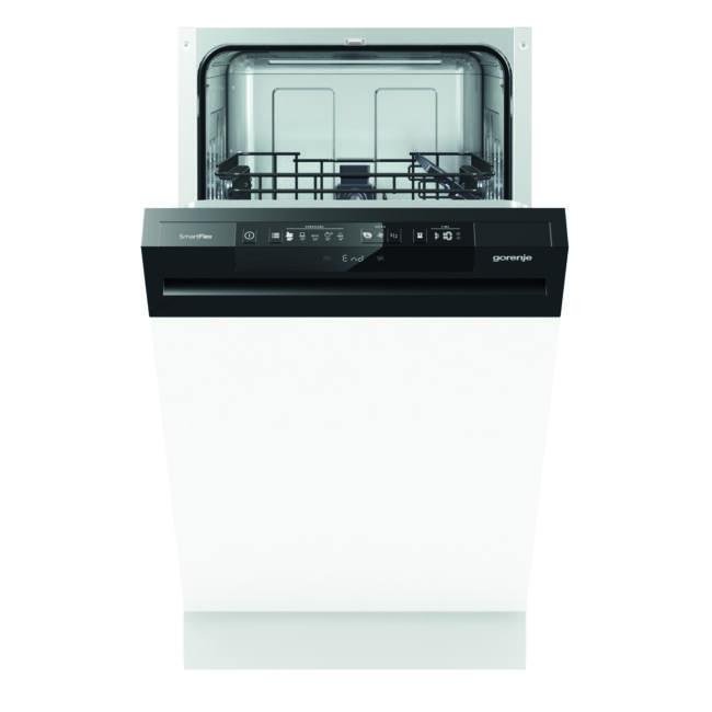 Gorenje GI53110 SmartFlex mosogatógép - kezelőpaneles 45cm széles, 9 teríték – 2 kosár, A++, 5 progr