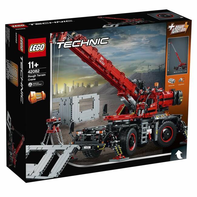 LEGO Technic  Terepjáró daru 42082