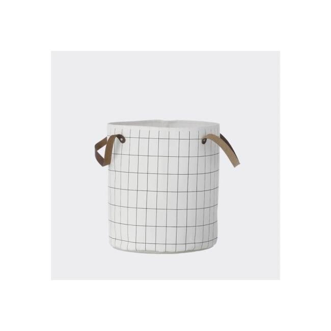Grid Basket - Small (9140) Fehér tároló kosár