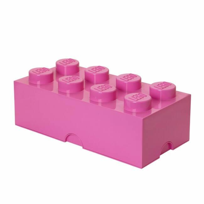 LEGO Storeage Brick 8 - Pink (40041739) tároló blokk