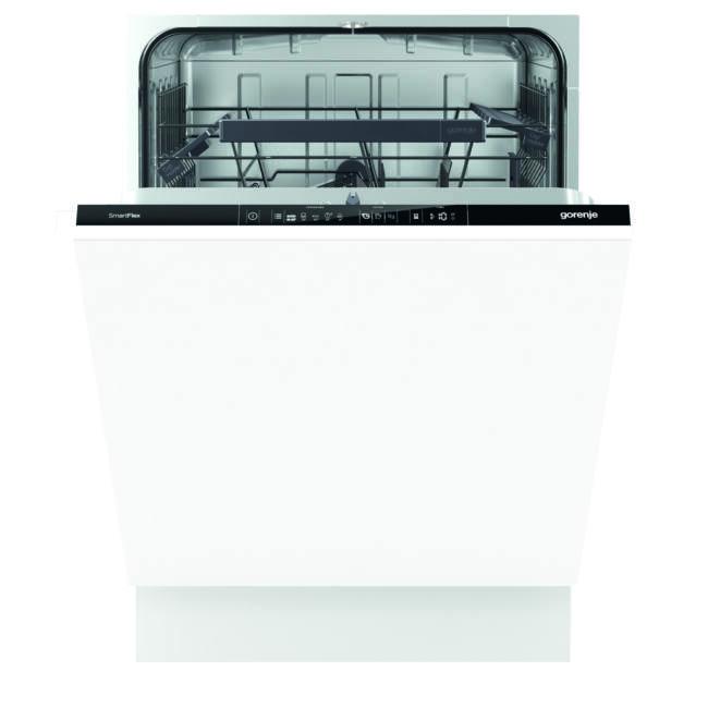 Gorenje GV64160 SmartFlex mosogatógép - teljesen integrált 60cm széles, 13 teríték – 2 kosár, A++, 5