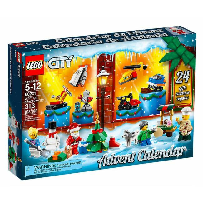LEGO City Adventi naptár 60201