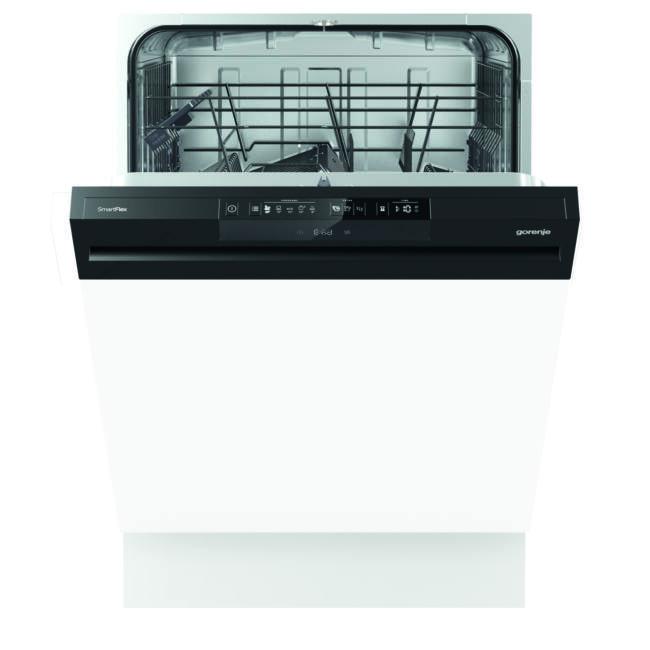 Gorenje GI64160 SmartFlex mosogatógép - kezelőpaneles 60cm széles, 13 terítékes – 2 kosár, A++, 5 pr