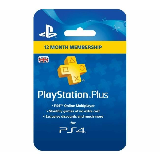 Playstation Plus előfizetés 1 Év