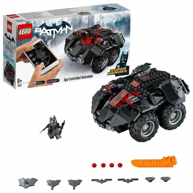 LEGO DC Comics Super Heroes - Applikációval irányítható Batmobil (76112)