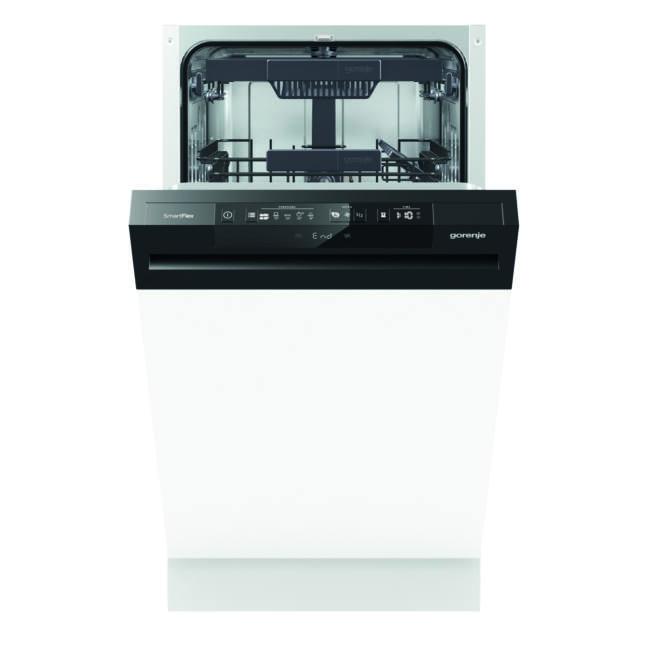 Gorenje GI55110 SmartFlex mosogatógép - kezelőpaneles 45cm széles, 10 teríték – 3 kosár, A++, 5 prog