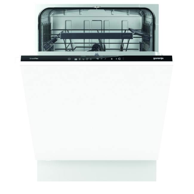 Gorenje GV66261 SmartFlex mosogatógép - teljesen integrált 60cm széles, 13 terítékes – 2 kosár, A+++