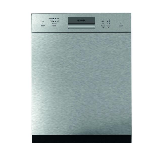 Gorenje GI61010X SmartFlex mosogatógép - kezelőpaneles 60cm széles, 12 terítékes – 2 kosár, A++, 6 p