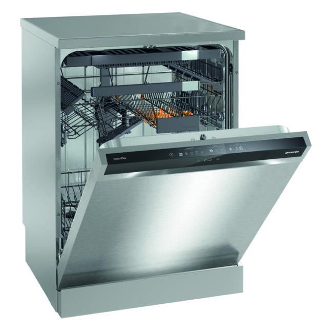 Gorenje GS66260X Szabadonálló mosogatógép - 16 teríték,   A+++AA, PowerDrive inverteres motor