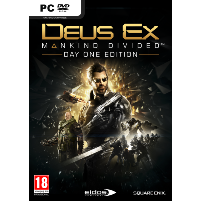 Deus Ex: Mankind Divided D1 Edition - PC