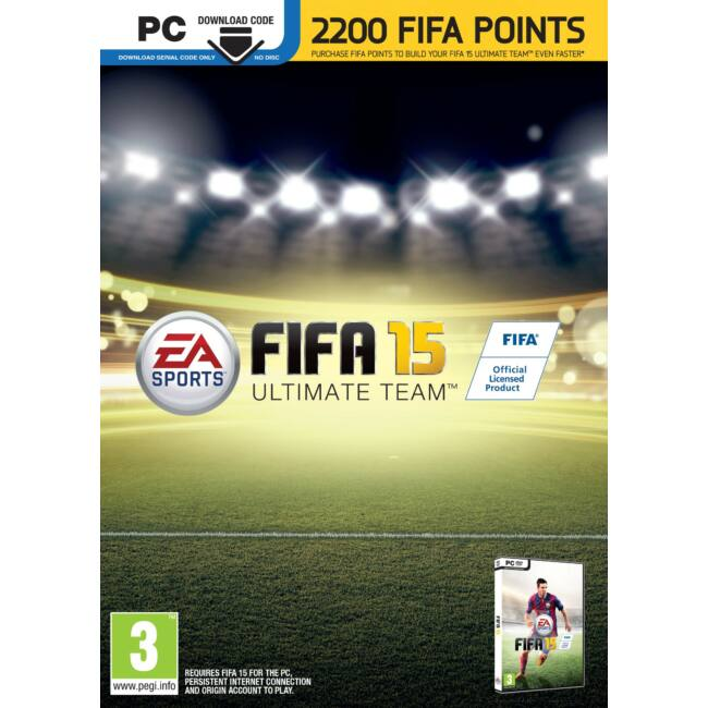 FIFA 15 ULTIMATE EDITION 2200 FIFA POINTS - PC