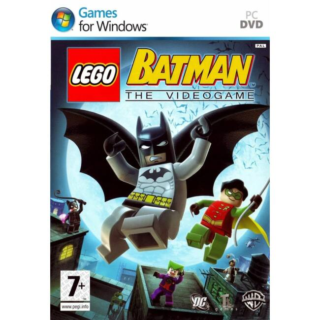 LEGO Batman The Videogame (PC) Játékprogram