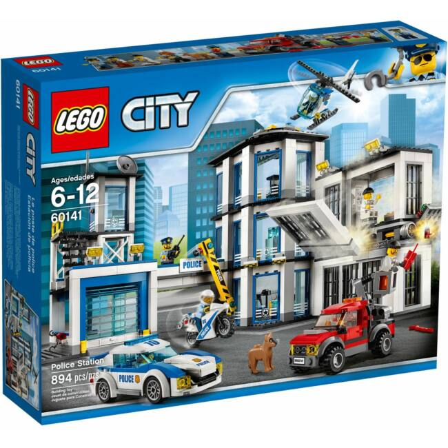 LEGO City 60141 Rendőrkapitányság