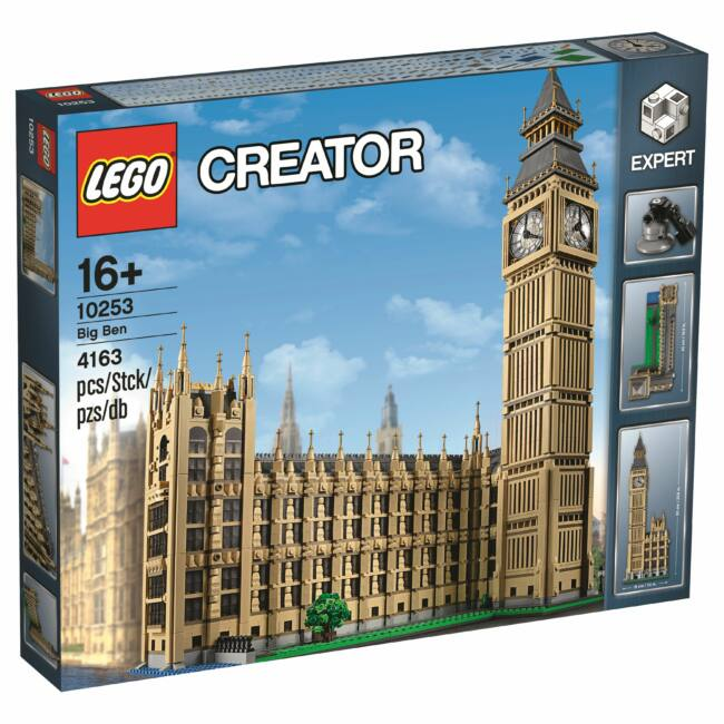 LEGO Exclusive - Big Ben (10253) építőjáték