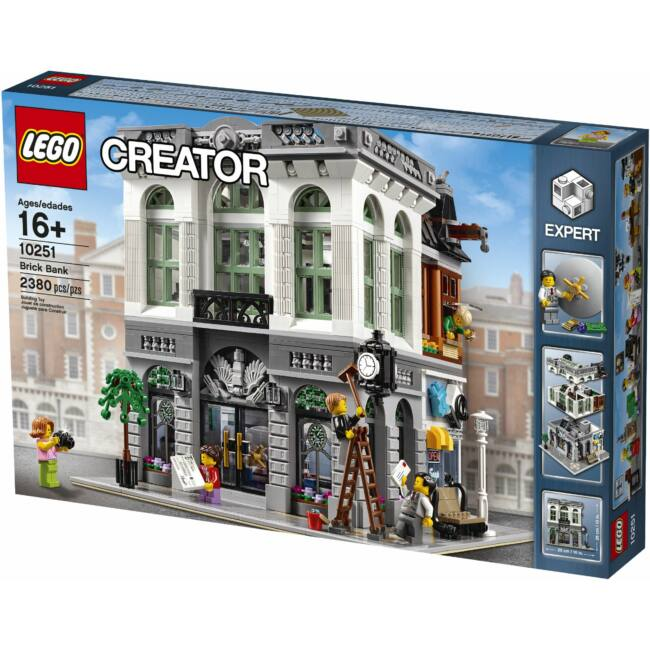 LEGO Exclusive - Brick Bank (10251) építőjáték