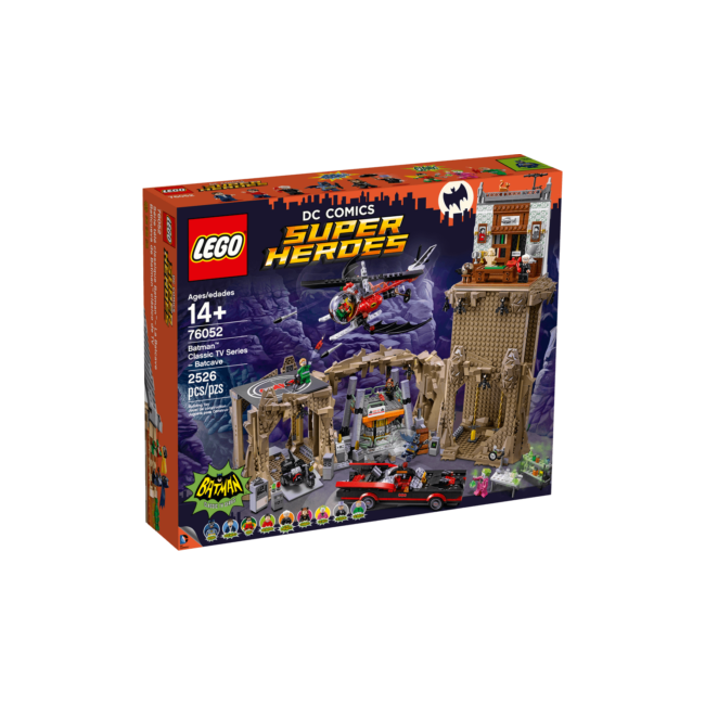 LEGO Exclusive - Classic TV Series Batcave (76052) építőjáték