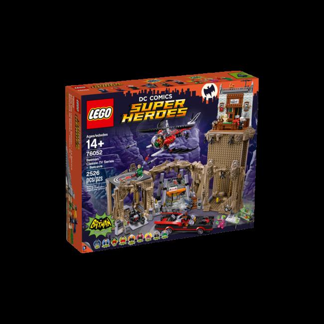 LEGO Exclusive - Classic TV Series Batcave (76052) építőjáték