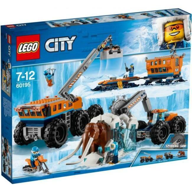LEGO City Sarki mobil kutatóbázis 60195